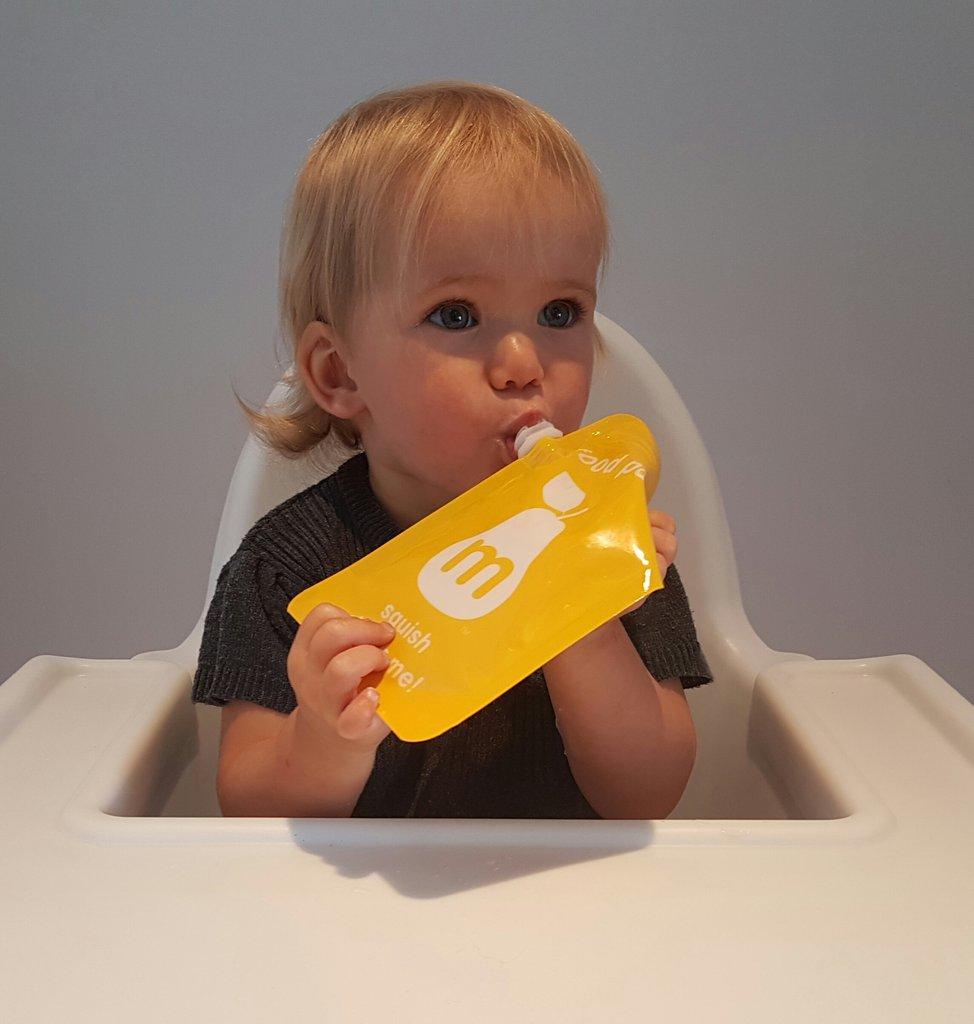 Squish Delish Full Box : Food Pouch ? Squish Delish ? Pack of 5 KidzBizOnline