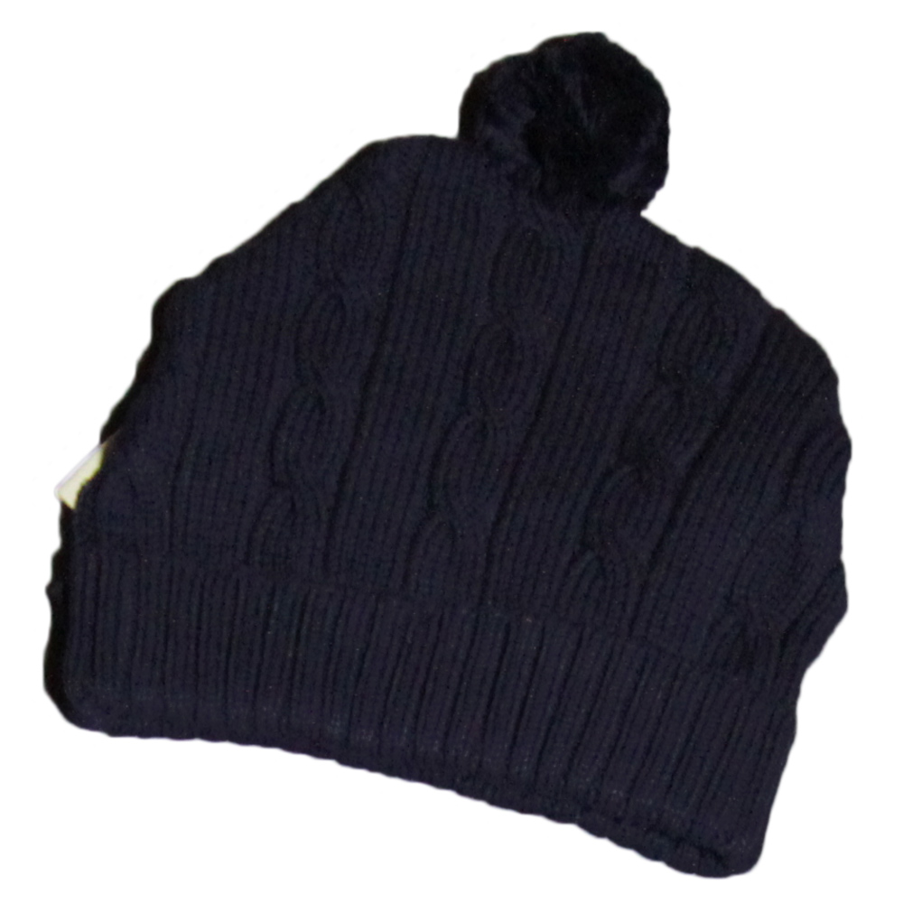 bd4bce2dd03 Korango Baby Boys Cable Knit Beanie – Navy – Large 48-51cm ...