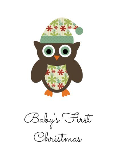 Baby S First Christmas Greeting Card Kidzbizonline