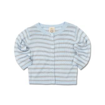 f7f45f869 Olliboo True Knit Baby Boys Bamboo Jacket   Cardigan – Sky Blue ...